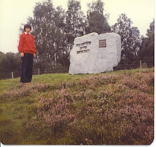 Highland Boundary Stone, Dinnet.