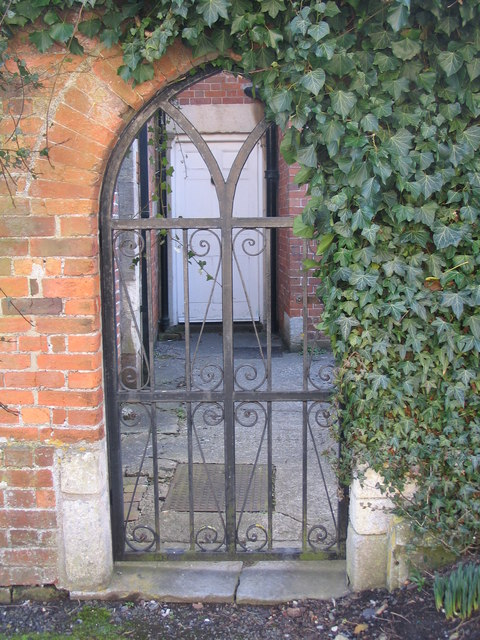 Gate to the Chantry Chapel