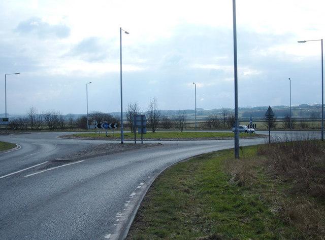 Roundabout A65/B6480