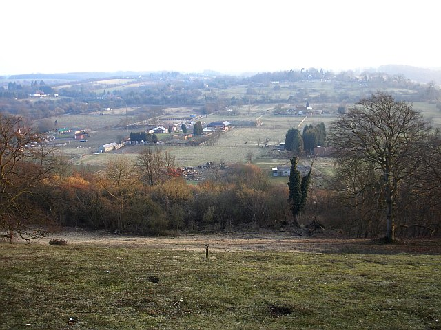 View from Queendown Warren