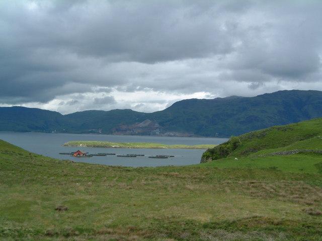 Eilean Loch Oscair