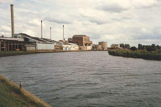 British Sugar Factory at Cantley