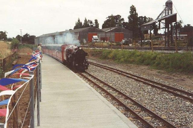 Bure Valley Railway  at Wroxham