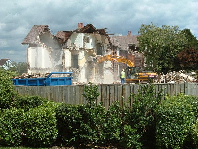 Demolition - Bedfordwell Road, Eastbourne