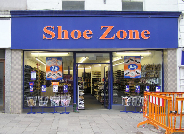 Shoe Zone Shops Thanet Kent