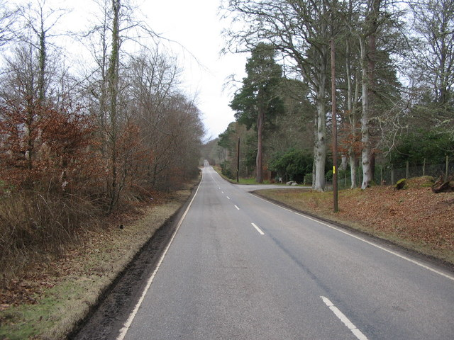 General Wades Military Road near Scaniport
