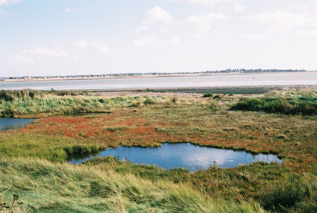 Eastern Tip of Mersea Island