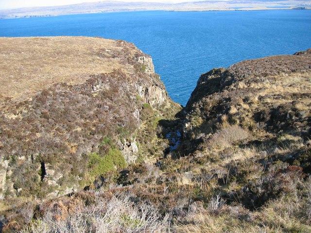 Ravine above Loch Dunvegan