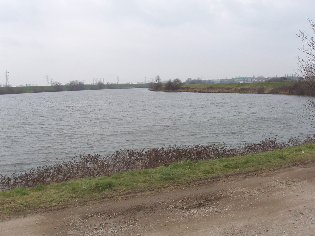 Low Maynard reservoir, Lea Valley