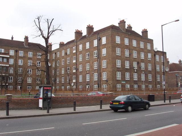 Flats on Upper Clapton Road, Hackney