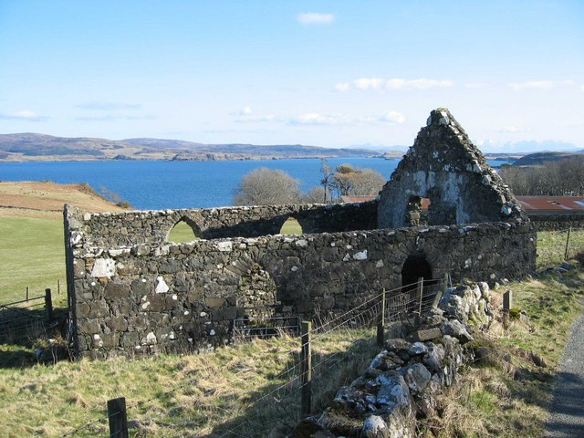 Ruined Church at Husabost