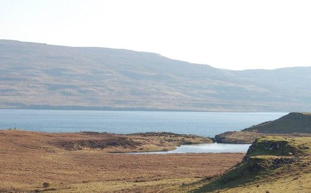 Lochan above Loch Dunvegan