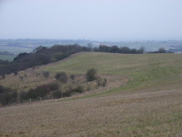 Sliding Hill, Swyncombe Downs
