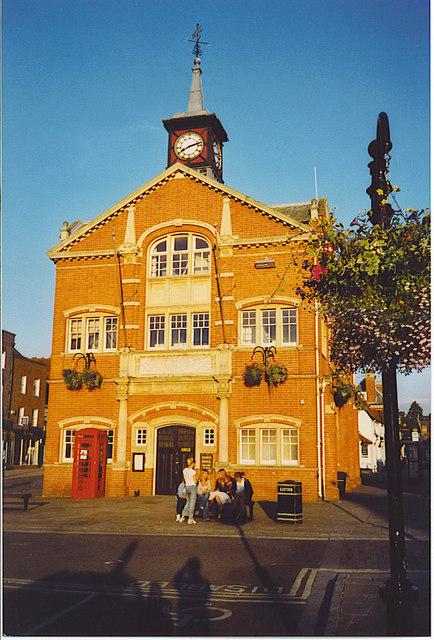 Thame Town Hall.