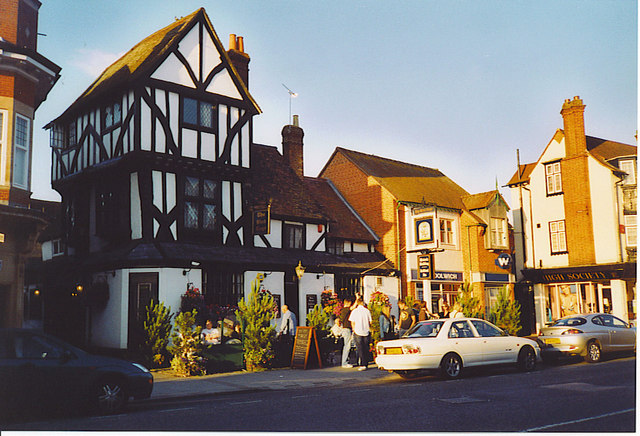 Thame United Kingdom  city photos gallery : sp7005 the bird cage inn thame near to thame oxfordshire great britain