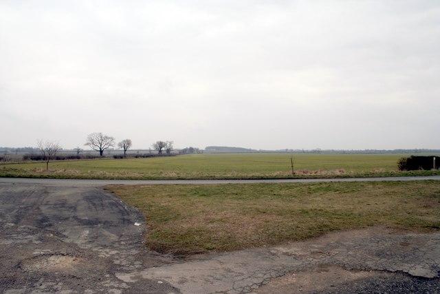 Fields near Hooby Lane