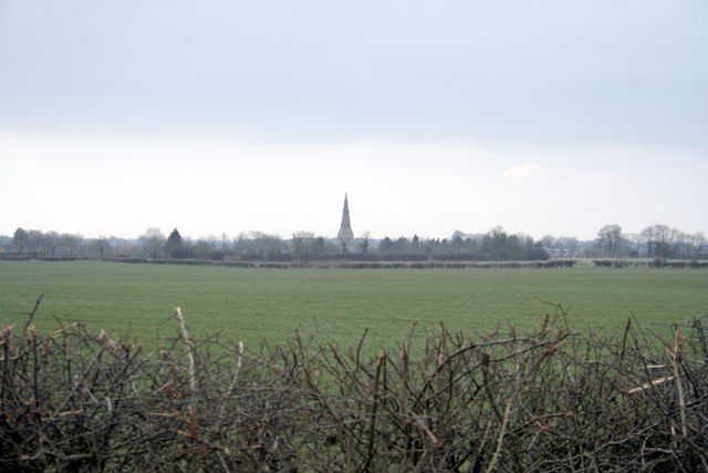 Greetham Church from over the fields