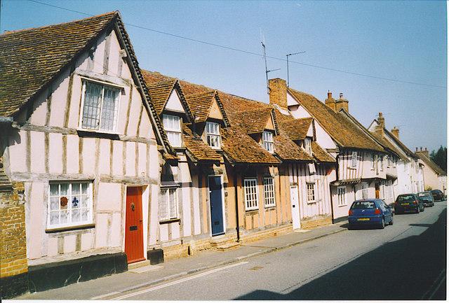 Water Street, Lavenham.