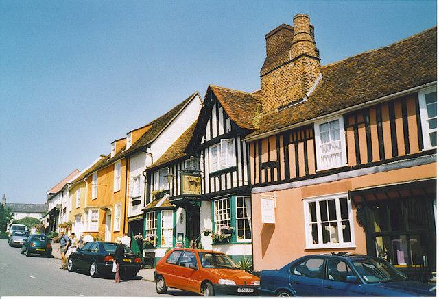 The Greyhound, High Street, Lavenham.