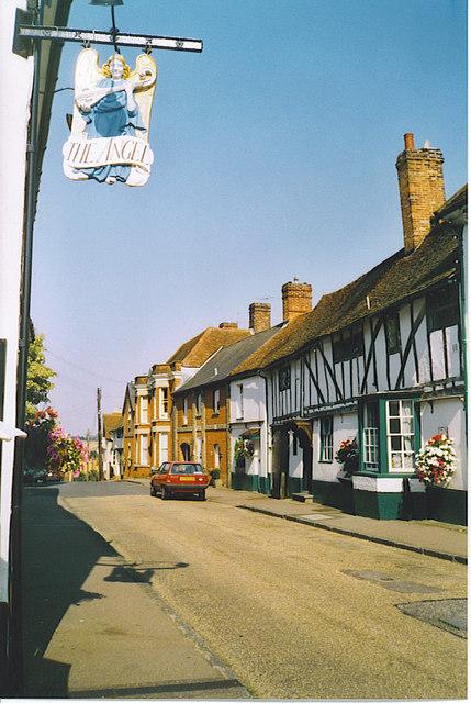 Prentice Street, Lavenham.