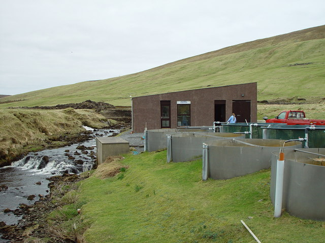 Weisdale Trout Hatchery Workshop, Weisdale, Shetland