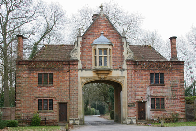 Gatehouse to Melchet Court