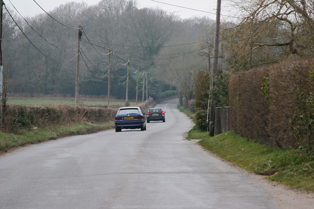Road heading towards West Wellow