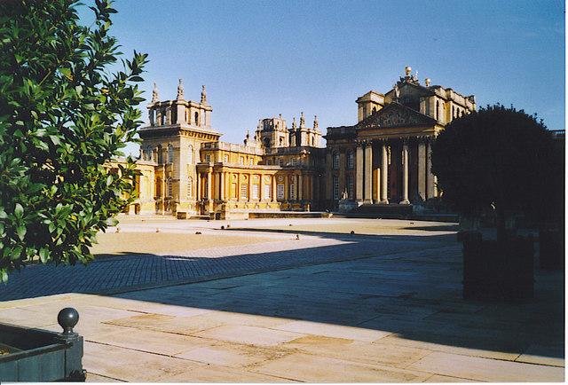 The Main Courtyard, Blenheim Palace.