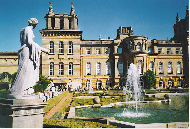The West Front, Blenheim Palace.