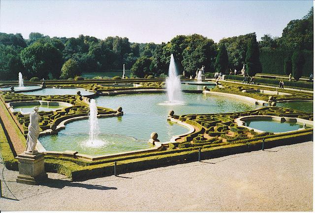Formal Garden, Blenheim Palace.