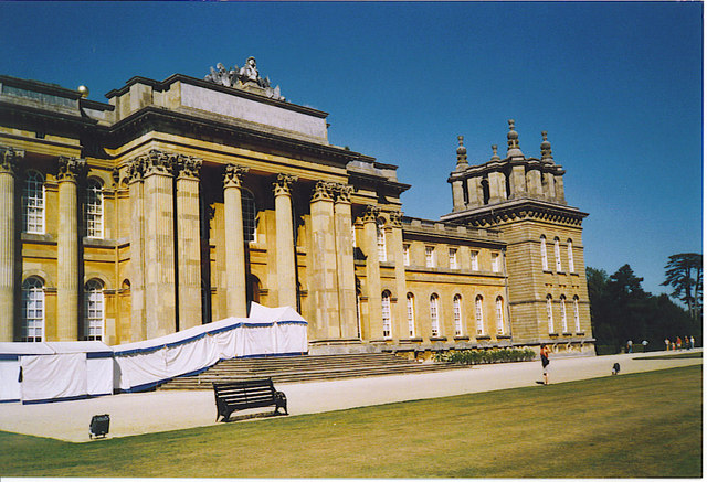 Blenheim Palace, the South Front.