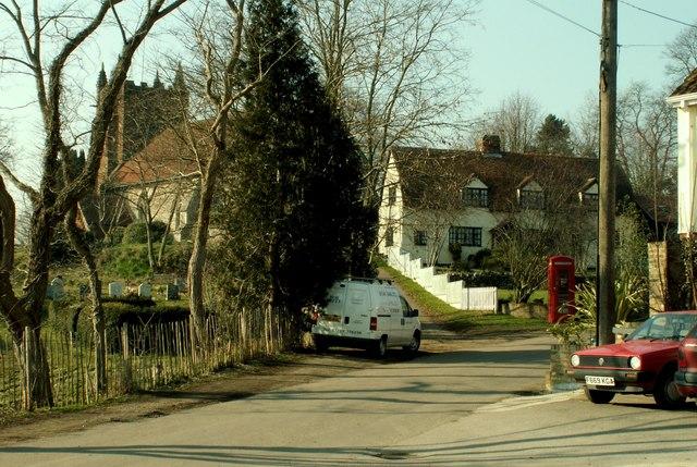Colne Engaine village, Essex