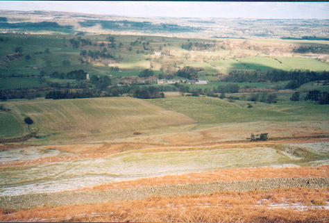 Castle Steads Fort near Caldbergh