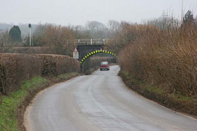 Railway bridge near Lockerley