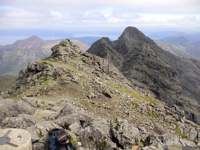 Summit of Bruach na Frithe