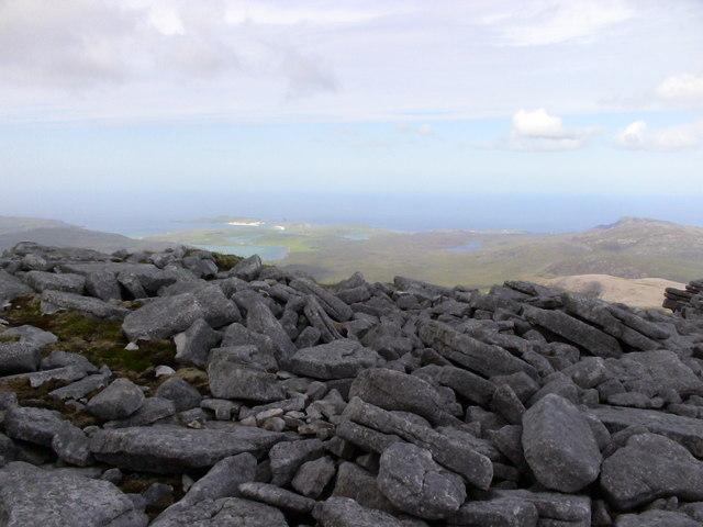 Summit of Beinn Spionnaidh