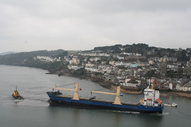 Fowey: seen from the Hall Walk