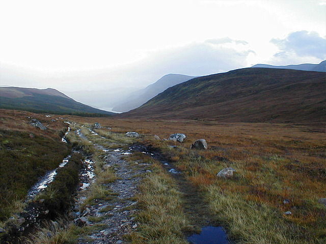 Path to Strathconnon