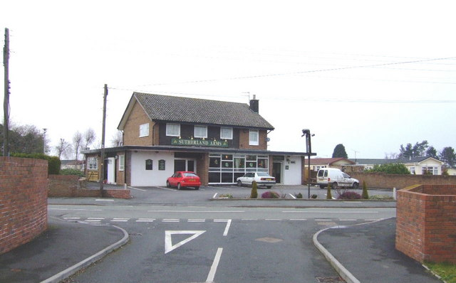 Sutherland Arms, Muxton
