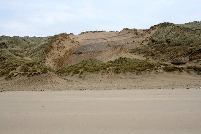 Blowout on Penhale Sands