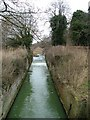 TL1740 : Disused lock in River Ivel Navigation by Robin Hall