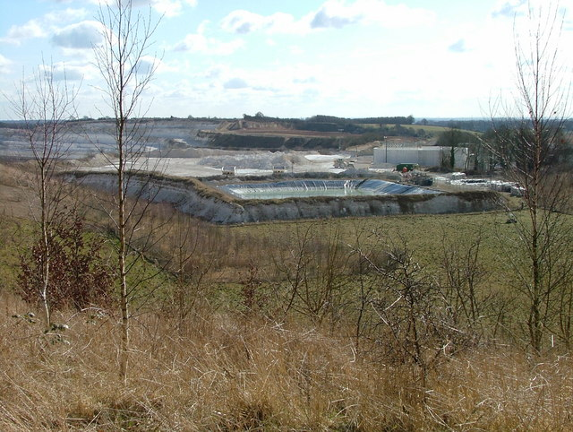Kensworth chalk quarry