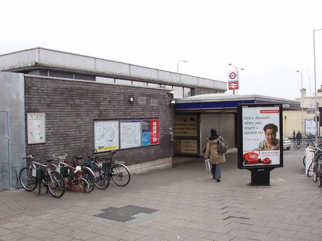 Blackhorse Road station, Walthamstow