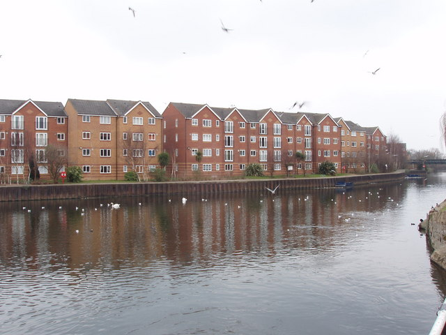 Flats by the River Lea, Tottenham Hale