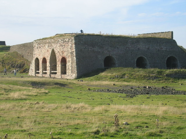 Lime Kiln on Holy Island