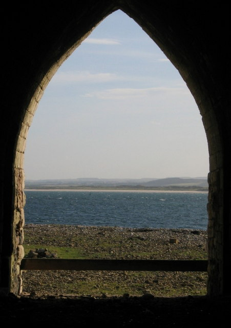 View from Lime Kiln on Holy Island
