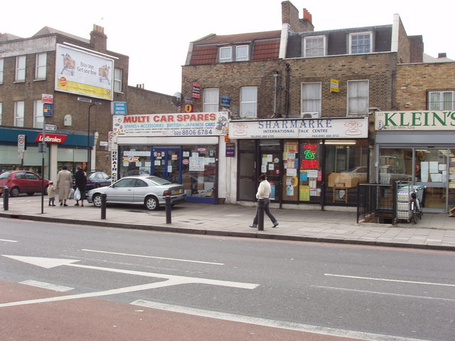 Shops on Upper Clapton Road