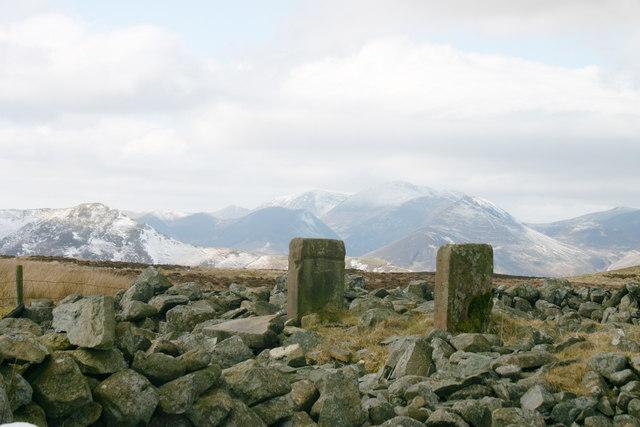 Sheepfold on Castlerigg Fell