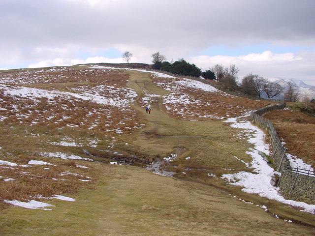 Footpath Above Walla Crag
