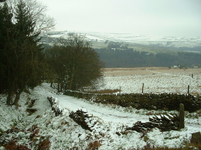 Kirklees Way, nr Ramsden Lane